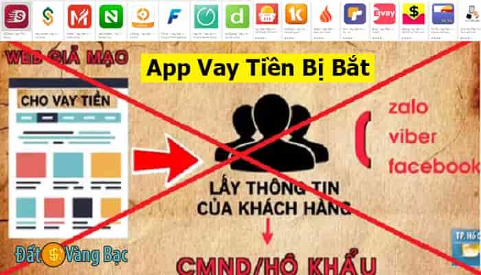 App Vay Tiền Bị Bắt,Tố Cáo App Cho Vay Online Nặng Lãi, Lừa Đảo